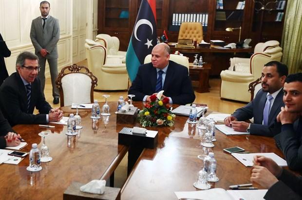 Libya: Hai phai doi dich dong y noi lai dam phan hoa binh hinh anh 1