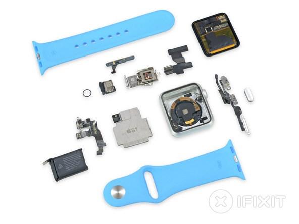 Dung nhua cung boc may, Apple Watch lam