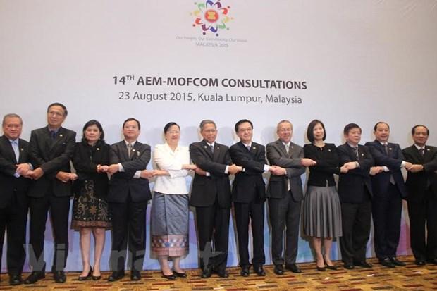 Tang cuong lien ket kinh te giua ASEAN voi cac doi tac doi thoai hinh anh 1