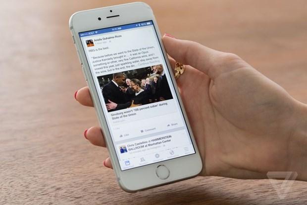 Facebook va lo hong cho phep xem luot doc bai viet tren News Feed hinh anh 1