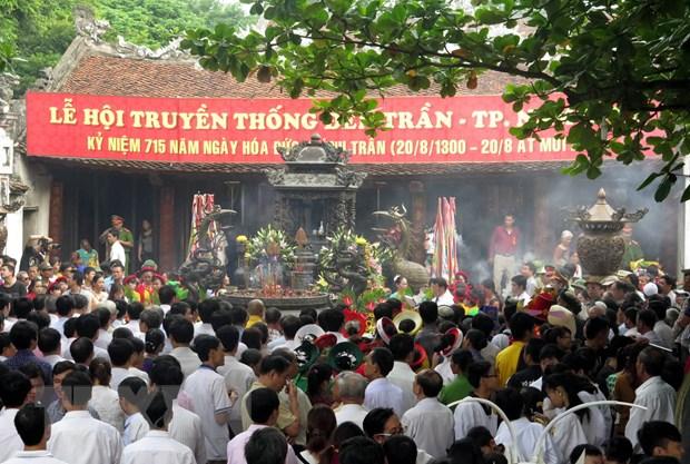 Phat an som hon tai Le hoi den Tran-Nam Dinh nam 2016 hinh anh 1