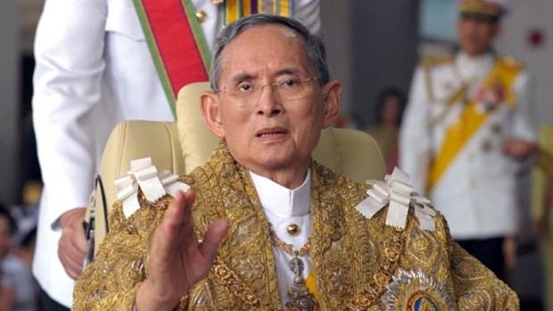 Suc khoe cua Nha Vua Thai Lan Adulyadej van chua kha quan hinh anh 1