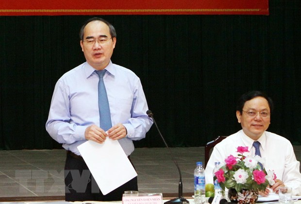 Ong Nguyen Thien Nhan khao sat de an dan cham diem chinh quyen hinh anh 1