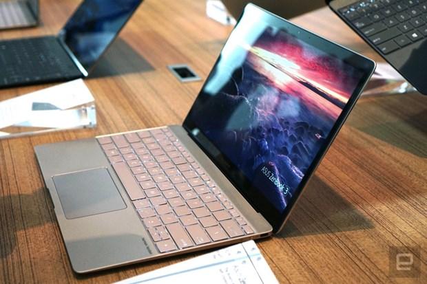Asus ra sieu pham ZenBook 3 mong hon va nhe hon MacBook hinh anh 1