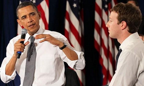 Ong Obama va Zuckerberg hen nhau dam dao qua Facebook Live hinh anh 1