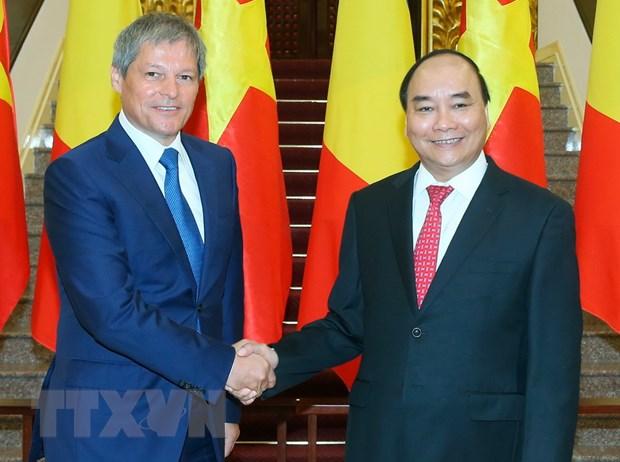 Toan van Tuyen bo chung cua hai Thu tuong Viet Nam va Romania hinh anh 1