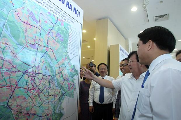 Cong bo quy hoach giao thong van tai Ha Noi den nam 2020 hinh anh 1
