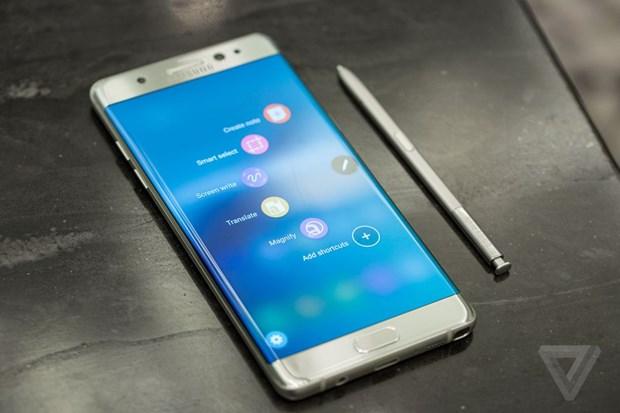 Video chi tiet mau dien thoai man hinh cong Samsung Galaxy Note 7 hinh anh 1