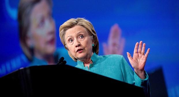 Ba Clinton du kien tham gia van dong tranh cu vao cuoi tuan nay hinh anh 1