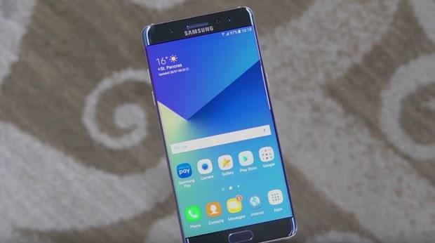 Samsung bat ngo hoan ban tro lai Galaxy Note 7 o Han Quoc hinh anh 1