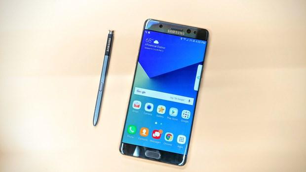 Samsung tien gan toi viec phai cong bo thu hoi Note 7 lan thu hai hinh anh 1