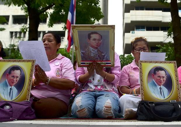 Quan doi Thai Lan tham gia giam sat noi dung phi bang hoang gia hinh anh 1