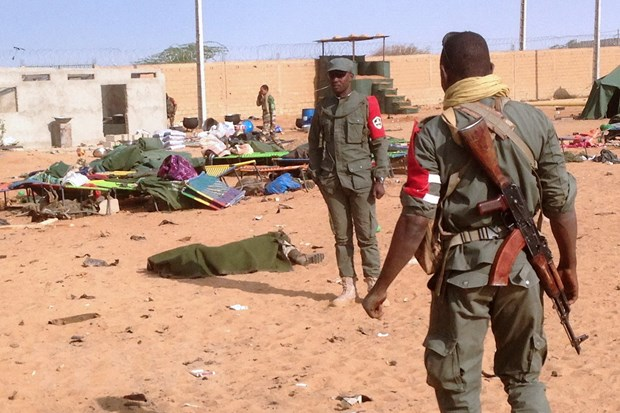 Phien quan than Al-Qaeda nhan danh bom kinh hoang o Mali hinh anh 1