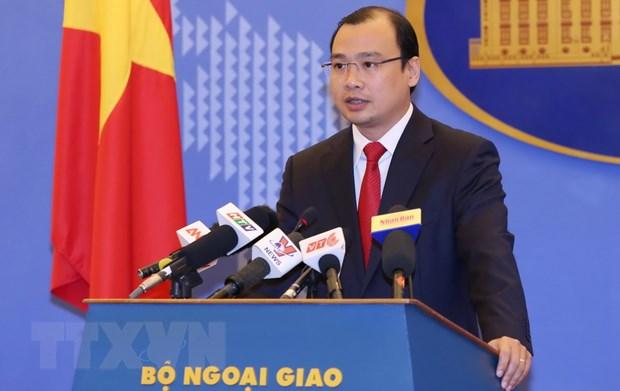 Viet Nam kien quyet phan doi cac hanh dong cua Trung Quoc o Hoang Sa hinh anh 1