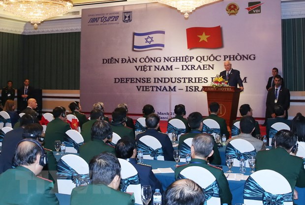 To chuc Dien dan Cong nghiep quoc phong Viet Nam-Israel hinh anh 1