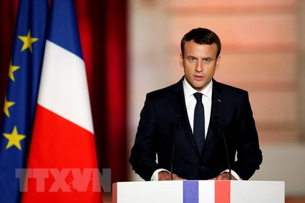 Ong Macron cam ket thuc day cai cach, xay dung nuoc Phap hung manh hinh anh 1