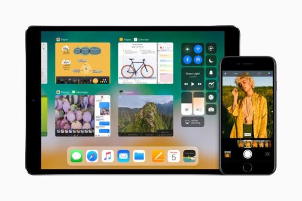 Apple chinh thuc ra mat he dieu hanh iOS 11 -