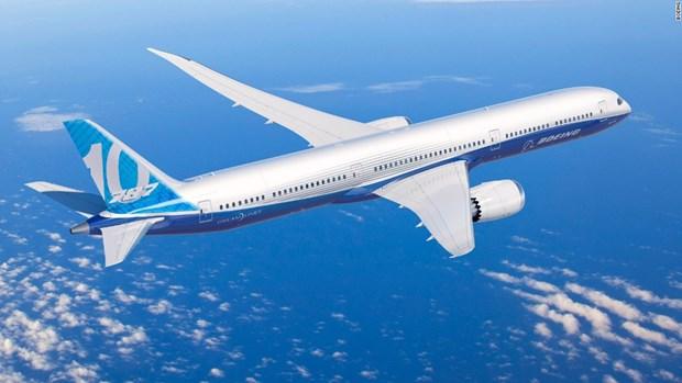 Boeing trinh lang may bay sieu tiet kiem nang luong 737 MAX 10 hinh anh 1