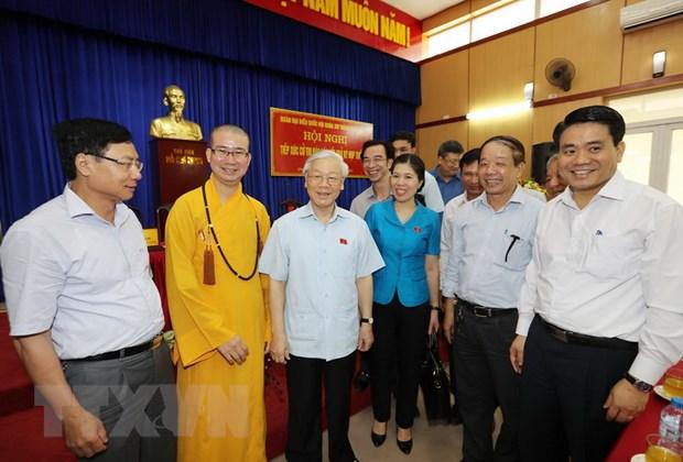 Tong Bi thu: Noi hay nhung can phai co chuyen bien trong thuc te hinh anh 1