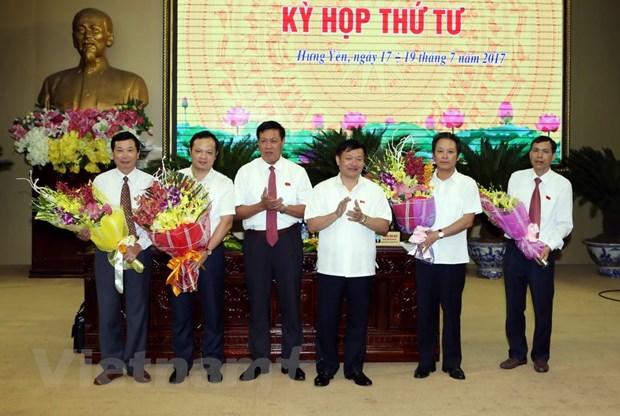 Ong Bui The Cu duoc bau lam Pho Chu tich UBND tinh Hung Yen hinh anh 1