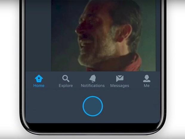 Ro ri ma nguon iOS cho thay chi tiet nut Home moi cua iPhone 8 hinh anh 1