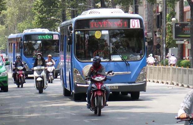 TP Ho Chi Minh day manh phat trien xe buyt de giam un tac giao thong hinh anh 1