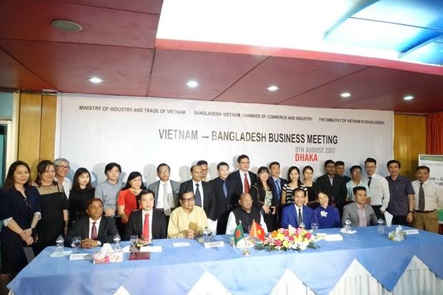 Gan 20 doanh nghiep Viet Nam sang Bangladesh xuc tien thuong mai hinh anh 1