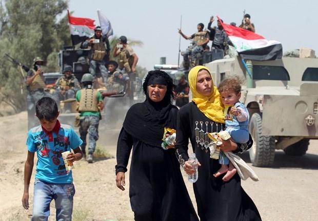 Hang nghin nguoi o Mosul bi ton thuong tam ly hau chien dich chong IS hinh anh 1