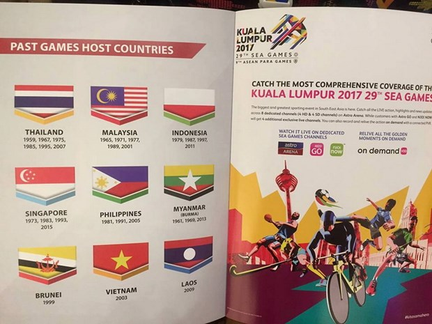Malaysia xin loi Indonesia do su co in nguoc quoc ky tai SEA Games 29 hinh anh 1
