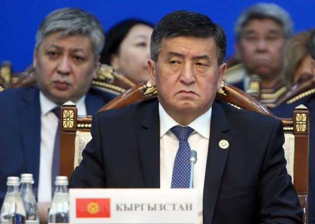 Thu tuong Kyrgyzstan Sooronbay Jeenbekov tu chuc de ung cu tong thong hinh anh 1