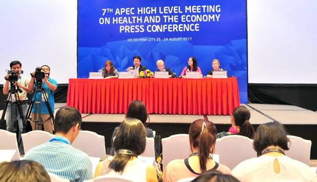 APEC 2017: Cuoc hop cao cap y te-kinh te dat nhieu ket qua quan trong hinh anh 1