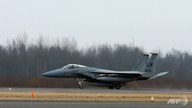 My dieu 7 chien dau co F-15 ho tro tuan tra khong phan vung Baltic hinh anh 1