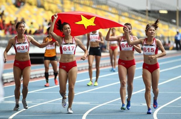 SEA Games 29: Thanh cong nhung chua tron ven voi the thao Viet Nam hinh anh 1