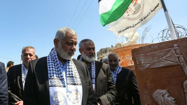 Phong trao Hamas tai Dai Gaza cai thien quan he voi Ai Cap hinh anh 1