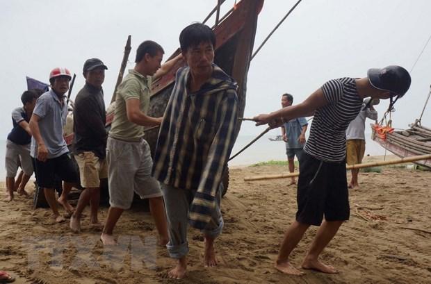 Thanh Hoa: Tim kiem tau ca voi 10 thuyen vien mat lien lac tren bien hinh anh 1