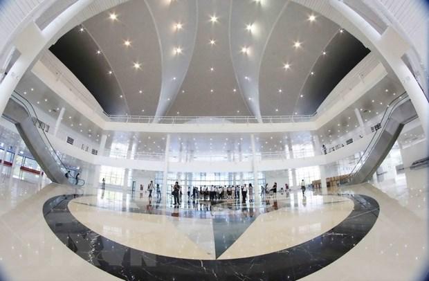 Co ban hoan thanh Trung tam bao chi cho Tuan le cap cao APEC 2017 hinh anh 2