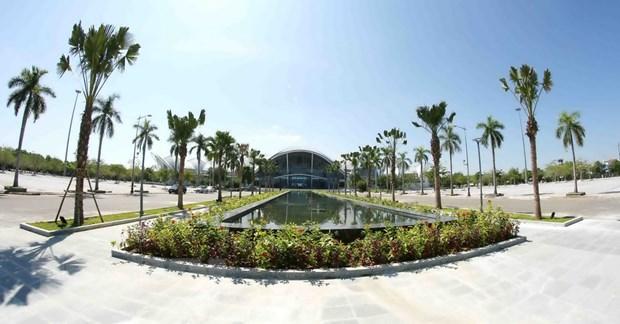 Co ban hoan thanh Trung tam bao chi cho Tuan le cap cao APEC 2017 hinh anh 3