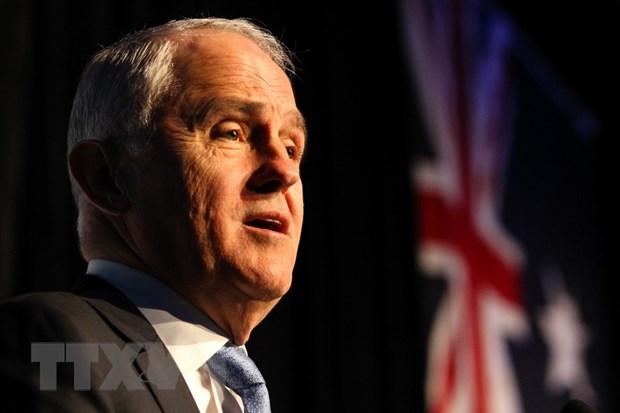 Thu tuong Australia Turnbull keu goi duy tri luat kiem soat sung dan hinh anh 1