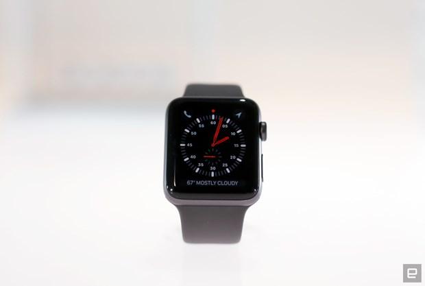 Apple da sua loi mat ket noi mang di dong Lte tren Watch Series 3 hinh anh 1