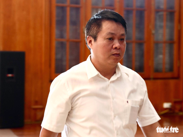 Yen Bai cho thoi chuc giam doc so TN-MT voi ong Pham Sy Quy hinh anh 1