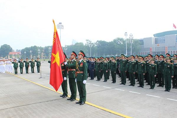 Khai mac Dai hoi dai bieu Doan TNCS Ho Chi Minh Quan doi lan thu IX hinh anh 1