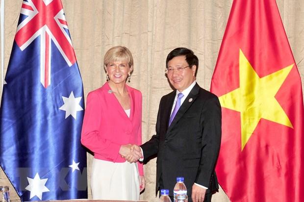 Som dua quan he hai nuoc Viet Nam-Australia len Doi tac Chien luoc hinh anh 1
