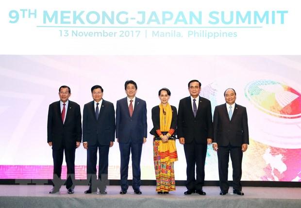 Thu tuong du Hoi nghi Cap cao Mekong-Nhat Ban va ASEAN-Lien hop quoc hinh anh 1