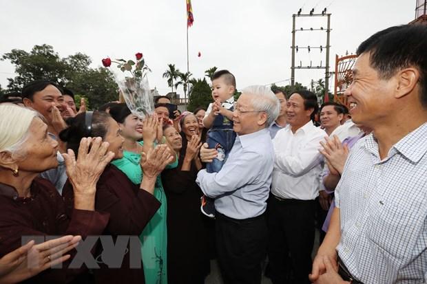 Tong Bi thu: Vai tro, vi the Viet Nam chua bao gio duoc nhu hom nay hinh anh 1