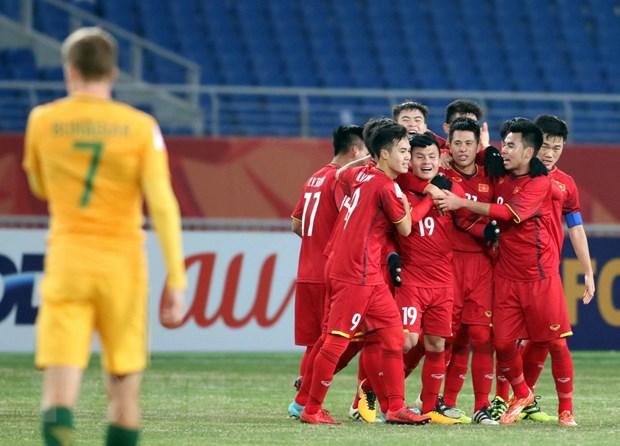 Chu tich AFC chuc mung chien thang lich su cua U23 Viet Nam hinh anh 1