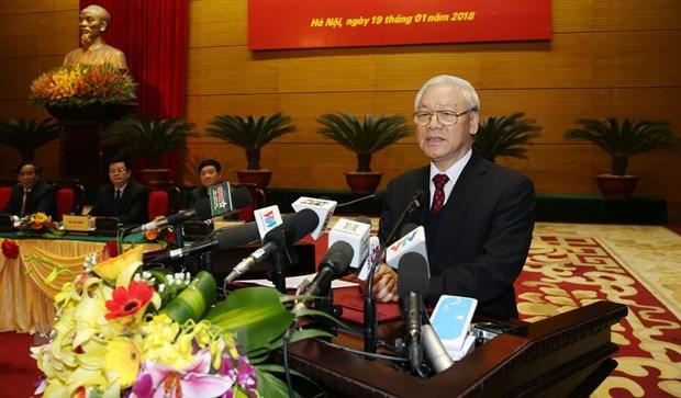 Tong Bi thu: Can bo, dang vien vi pham ky luat den muc bao dong hinh anh 1