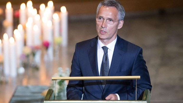 TTK Stoltenberg: NATO can thich nghi voi the gioi nguy hiem hon hinh anh 1
