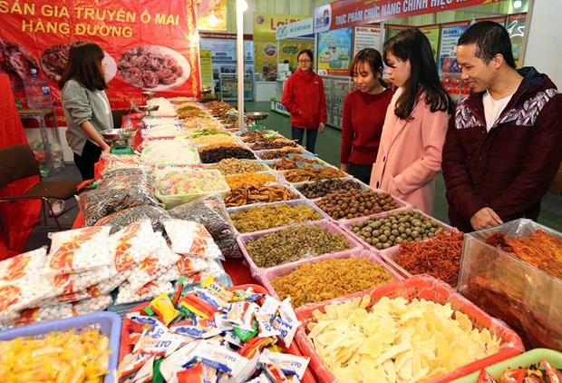 Co 600 gian hang quy tu tai Hoi cho Xuan Giang Vo nam 2018 hinh anh 1