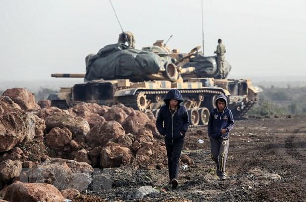 Nguoi Kurd keu goi Syria dong cua khong phan voi Tho Nhi Ky hinh anh 1