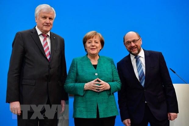 CDU/CSU va SPD nhom hop thao luan lap chinh phu o Duc hinh anh 1
